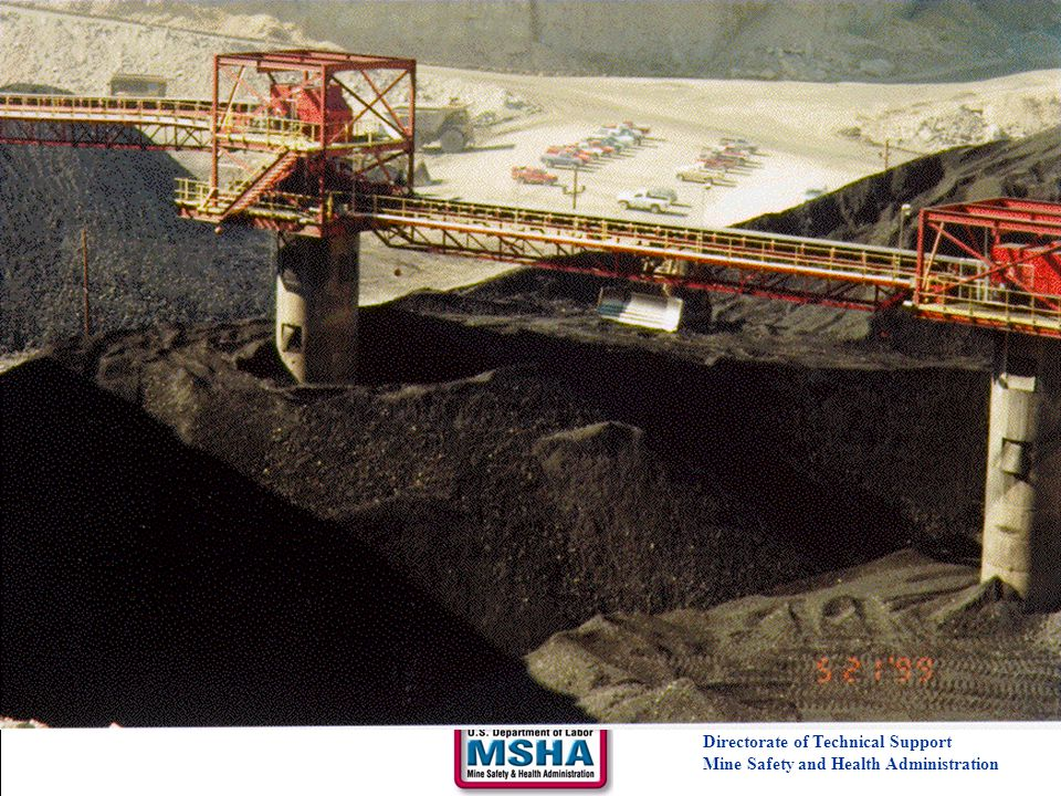 Surge Pile Safety Directorate of Technical Support Mine Safety and Health Administration.