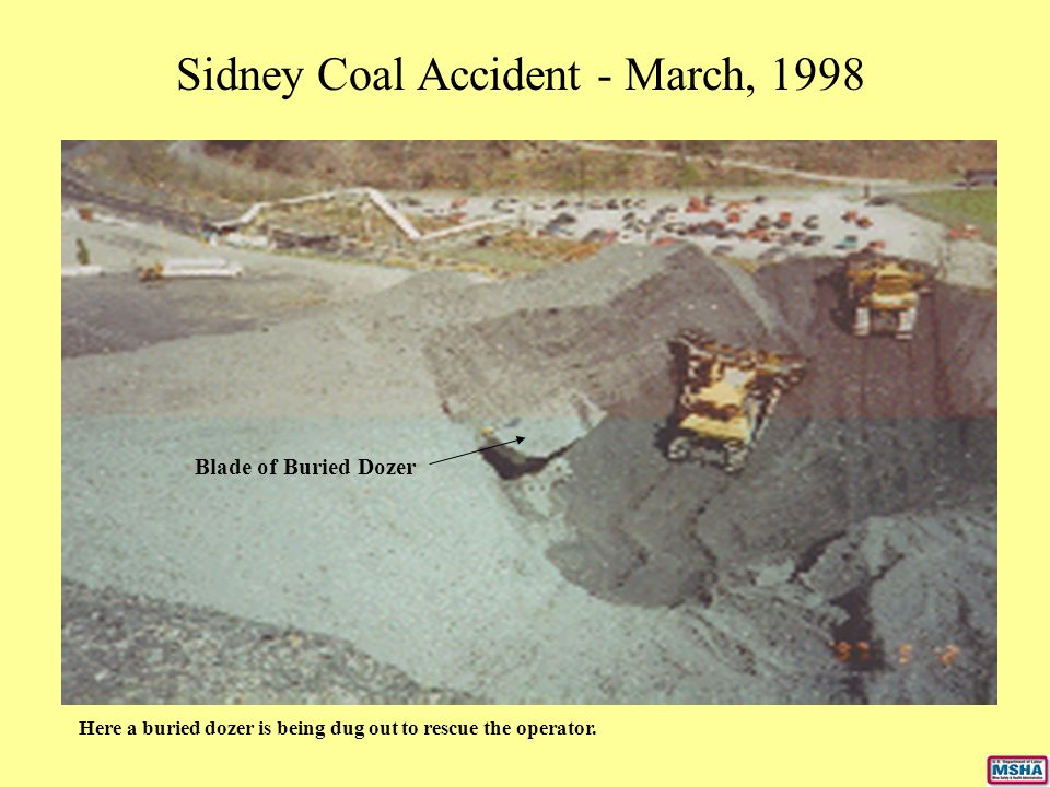 Sidney Coal Accident - March, 1998