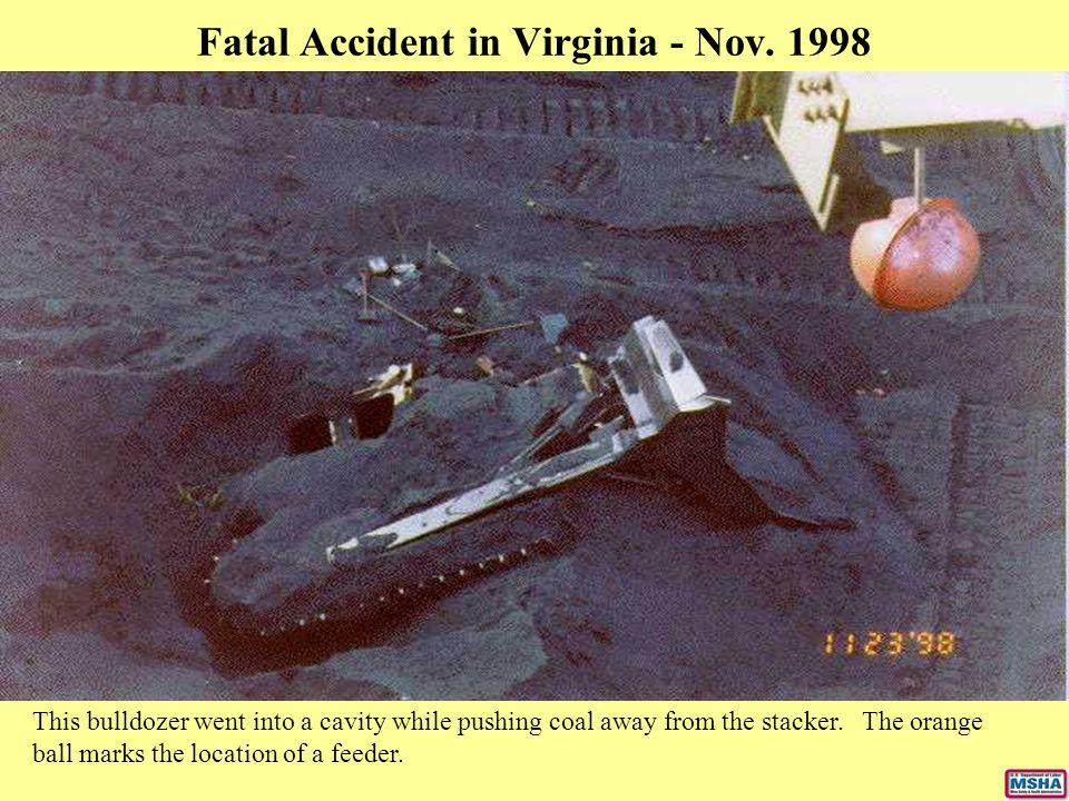 Fatal Accident in Virginia - Nov. 1998