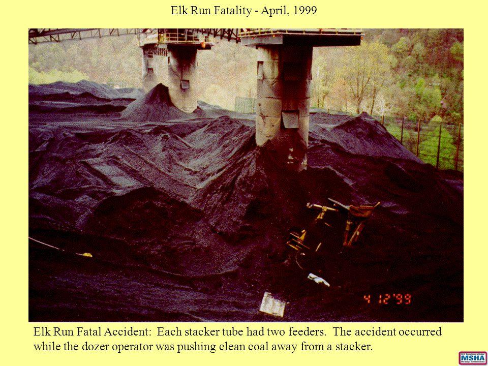 Elk Run Fatality - April, 1999