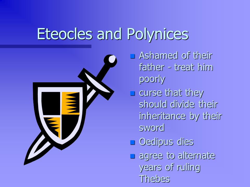 Eteocles and Polynices