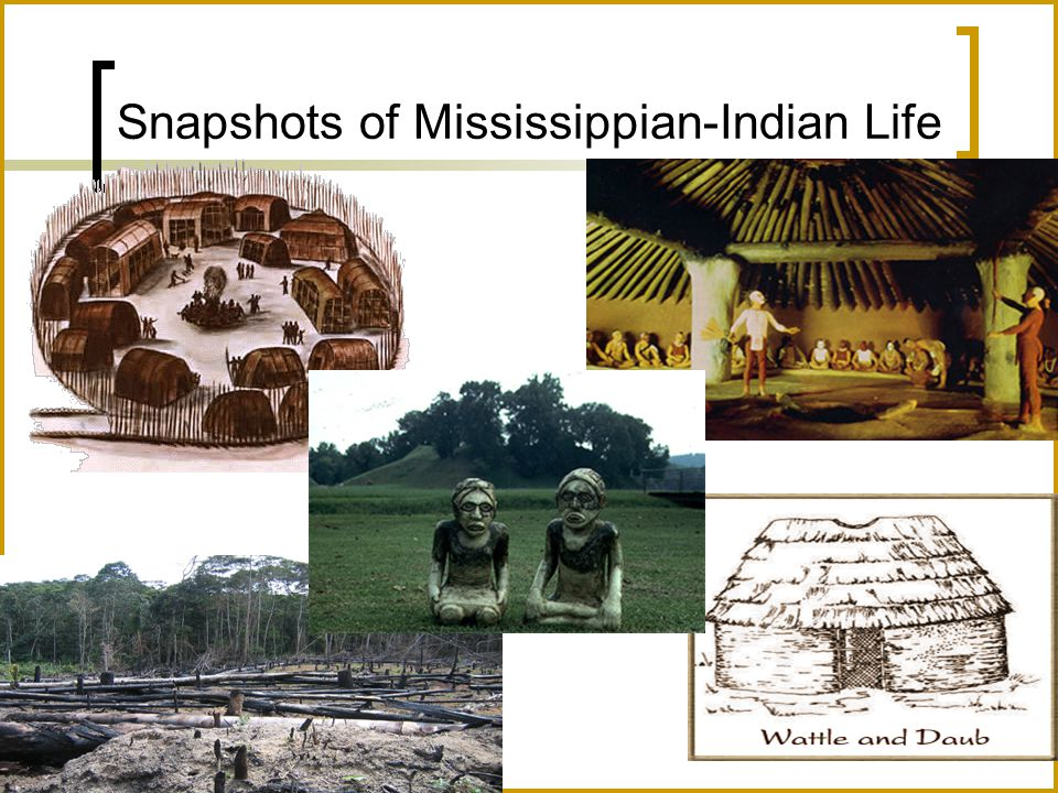 Snapshots of Mississippian-Indian Life