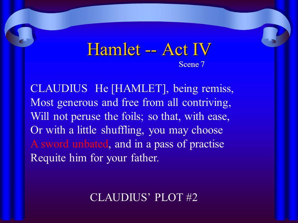 Hamlet -- Act IV Scene 7.