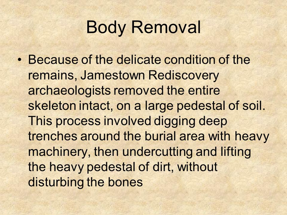 Body Removal