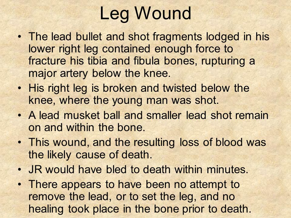 Leg Wound