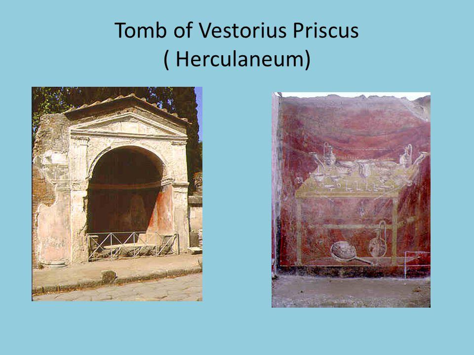 Tomb of Vestorius Priscus ( Herculaneum)