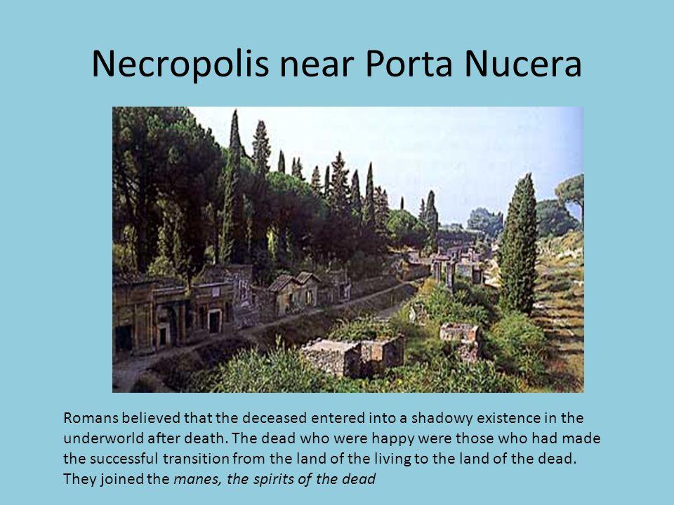 Necropolis near Porta Nucera