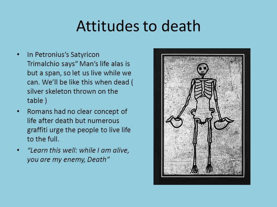 Attitudes to death