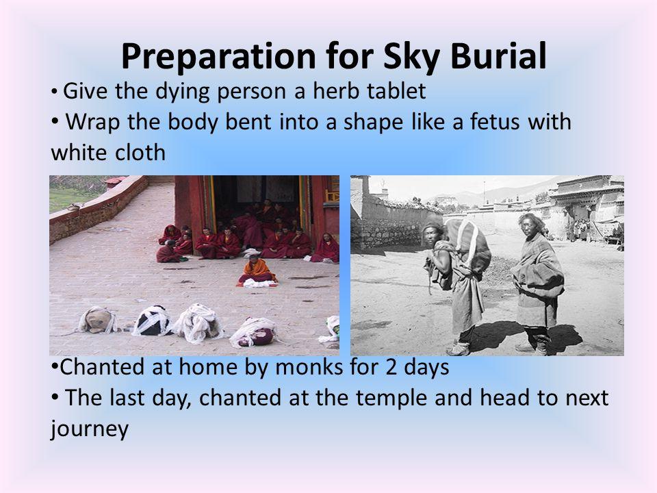 Preparation for Sky Burial