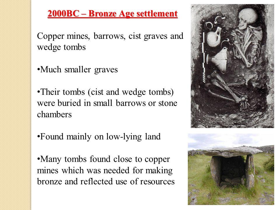 2000BC – Bronze Age settlement
