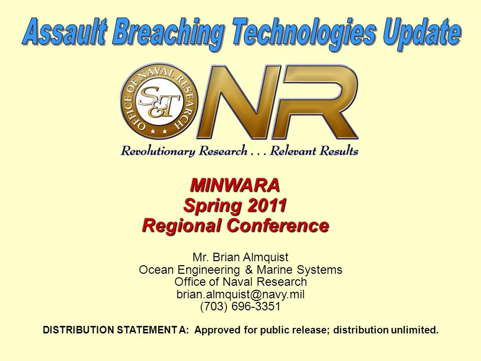 Assault Breaching Technologies Update