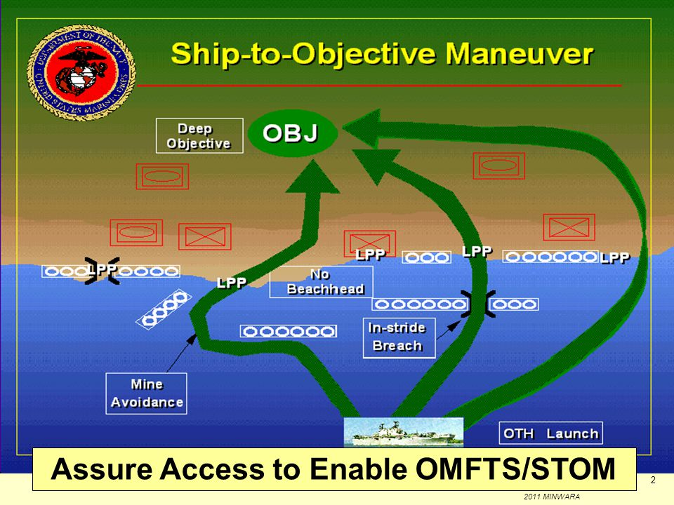 Enabling Capability: MCM for Maneuver