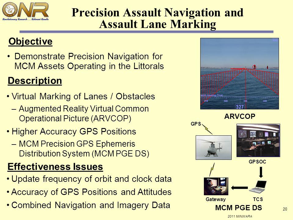 Precision Assault Navigation and Assault Lane Marking
