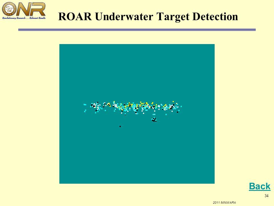 ROAR Underwater Target Detection