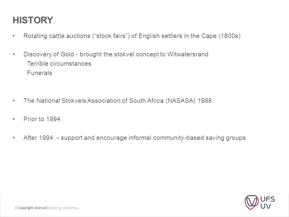 HISTORY Rotating cattle auctions ( stock fairs ) of English settlers in the Cape (1800s)