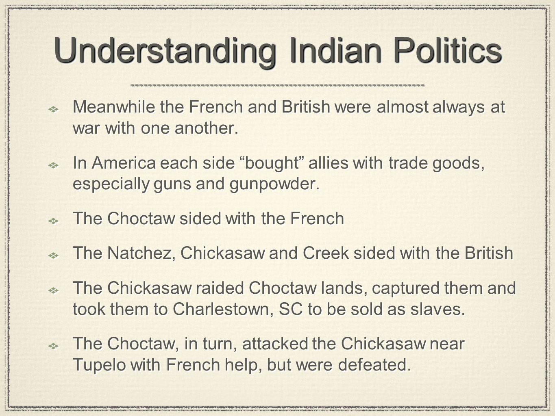 Understanding Indian Politics