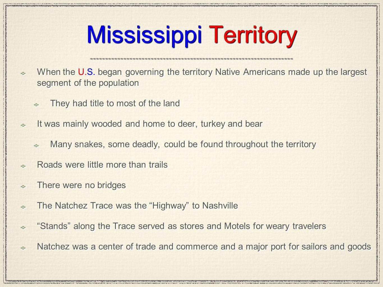 Mississippi Territory