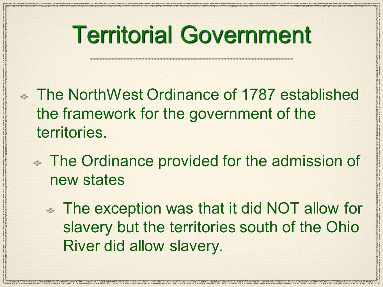 Territorial Government
