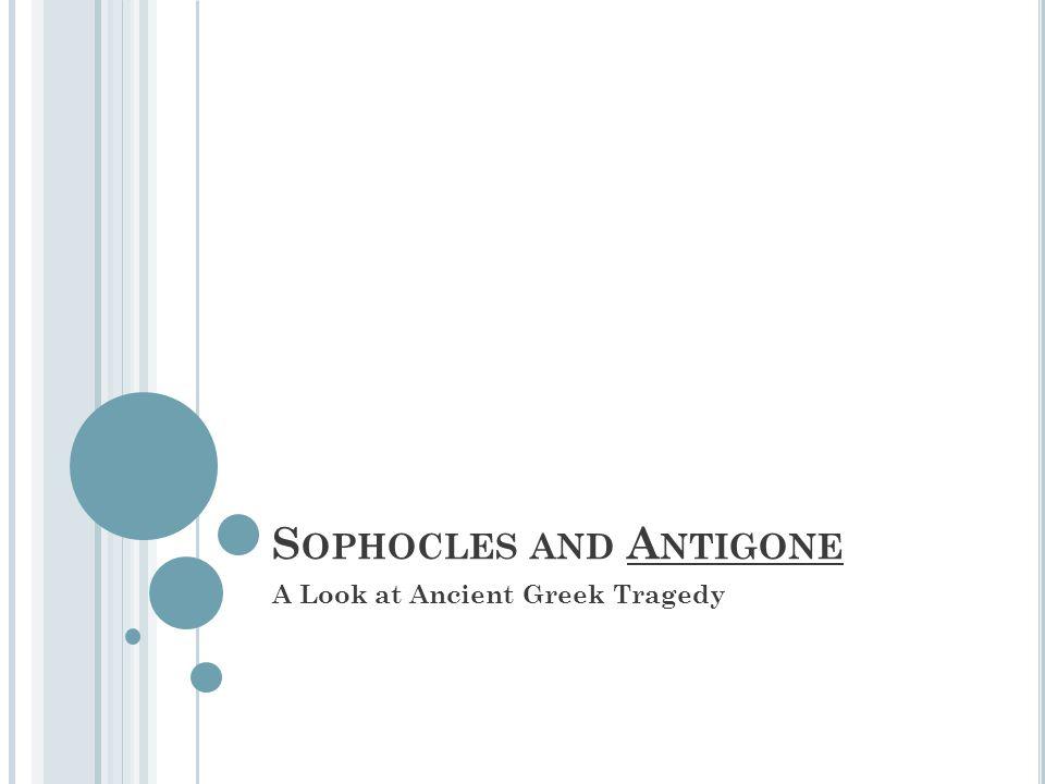 Sophocles and Antigone