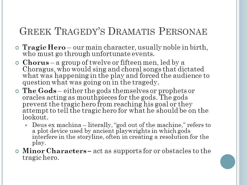 Greek Tragedy's Dramatis Personae