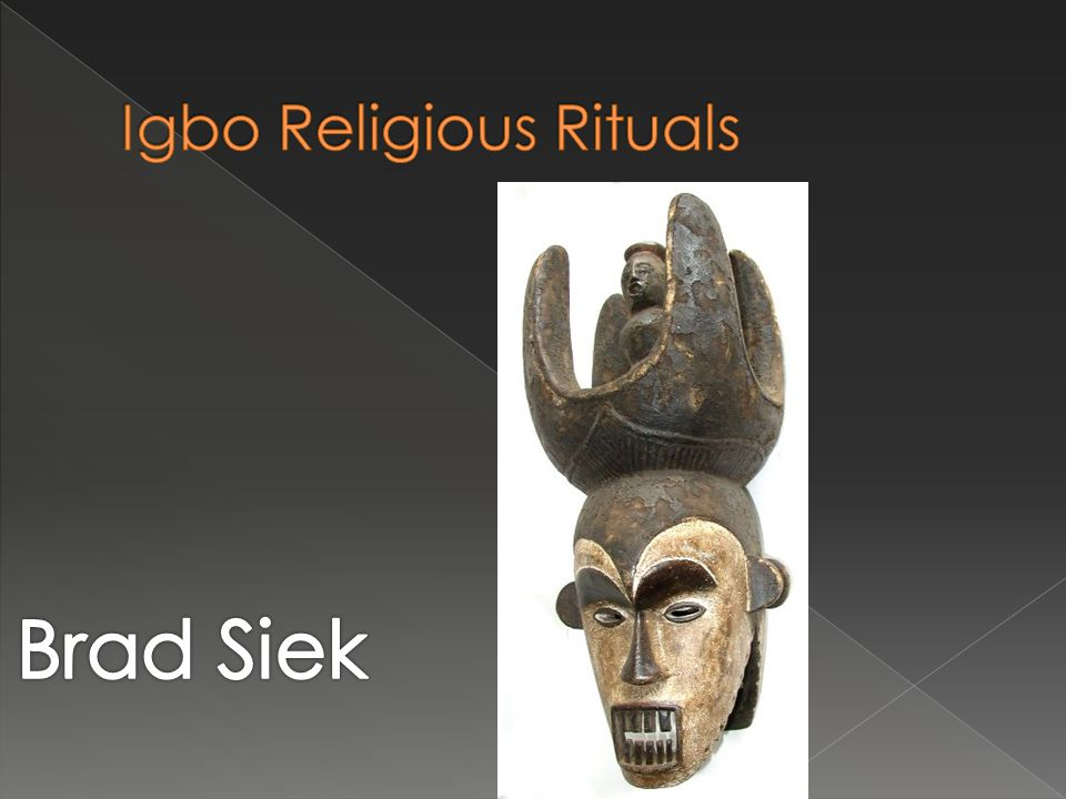 Igbo Religious Rituals