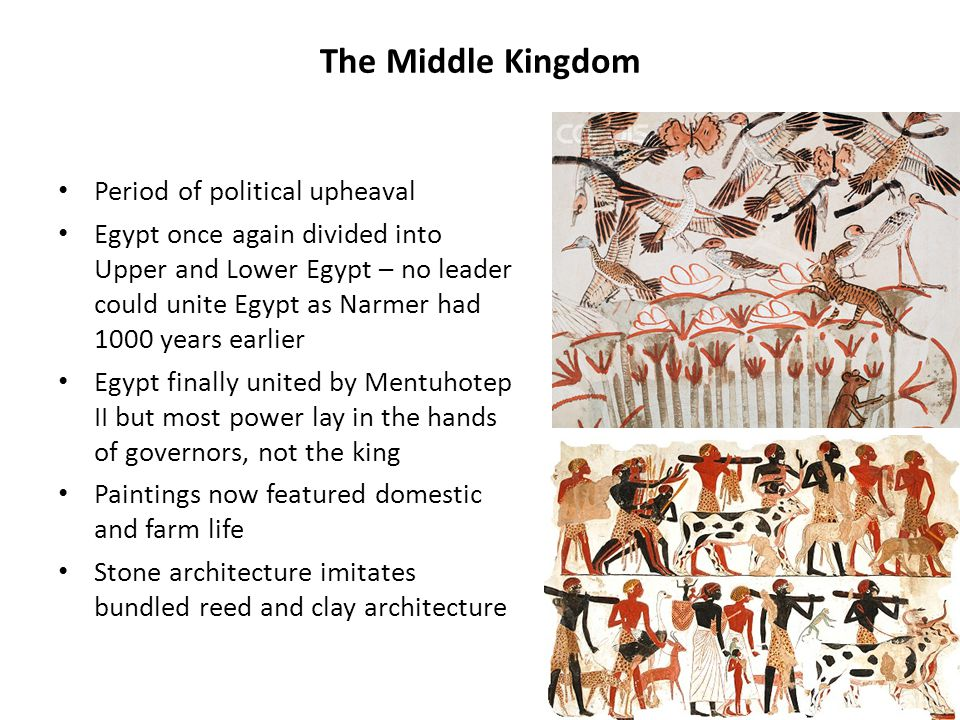 The Middle Kingdom Period of political upheaval