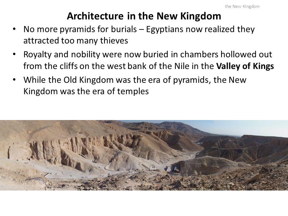 Architecture in the New Kingdom