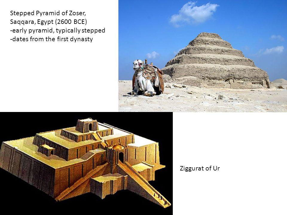 Stepped Pyramid of Zoser, Saqqara, Egypt (2600 BCE)