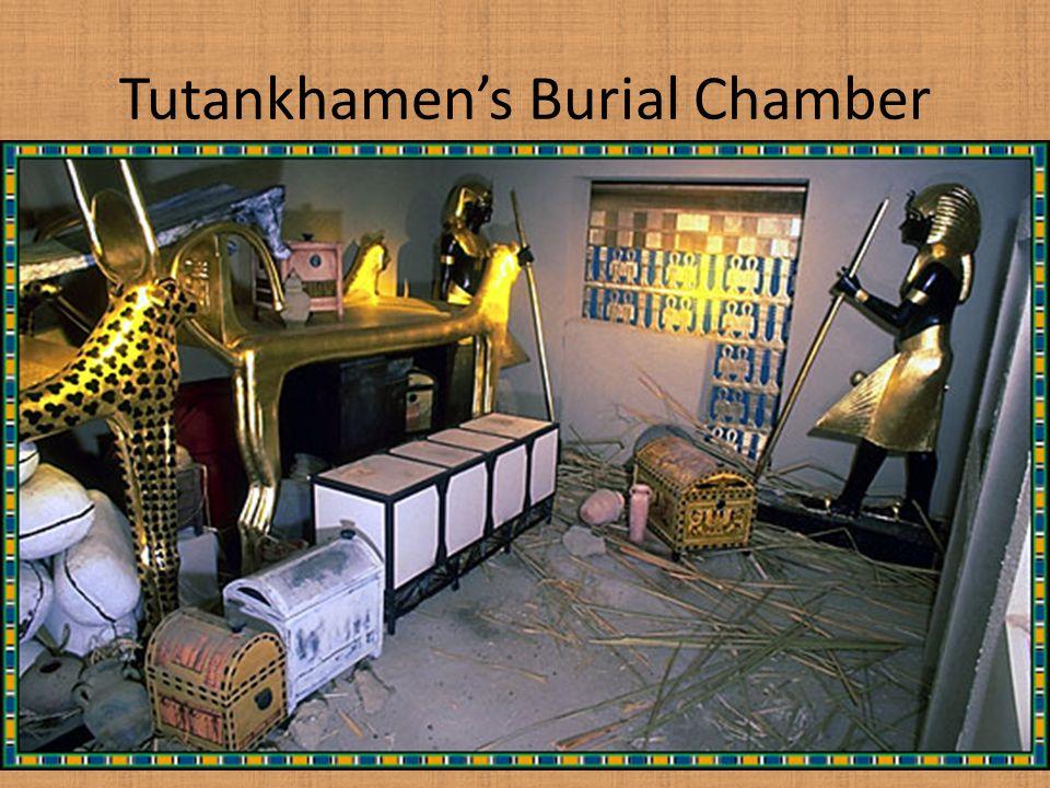 Tutankhamen's Burial Chamber
