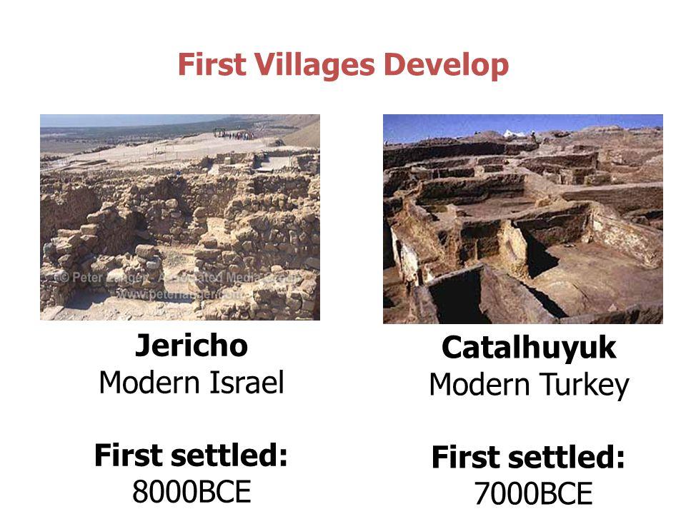 First Villages Develop