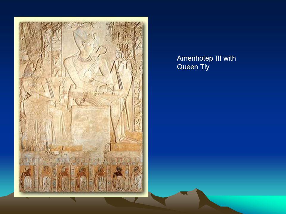 Amenhotep III with Queen Tiy