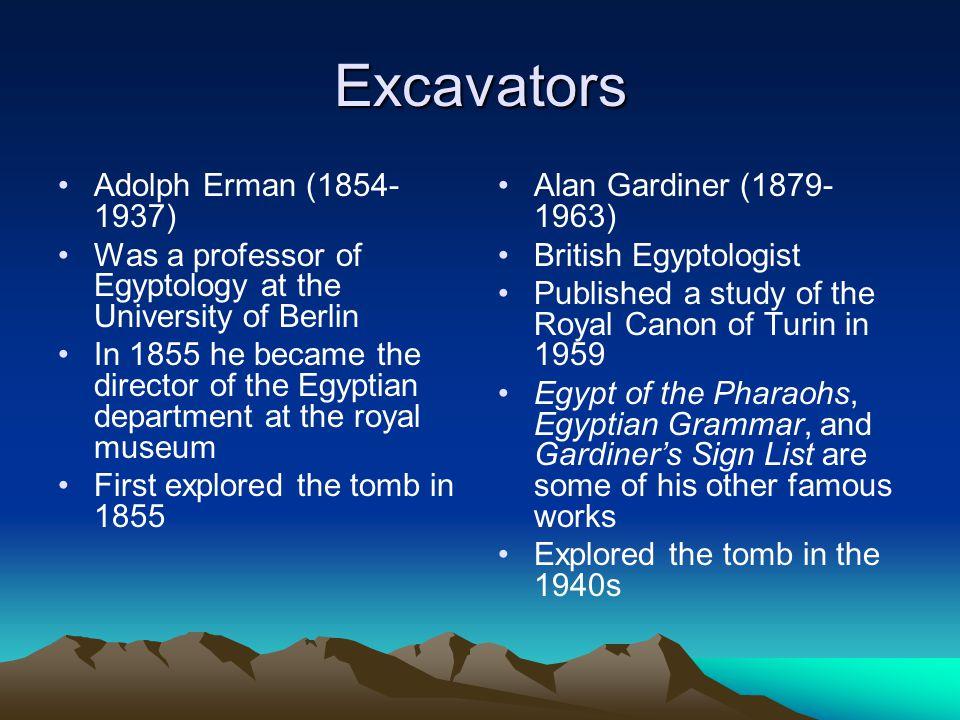 Excavators Adolph Erman (1854-1937)