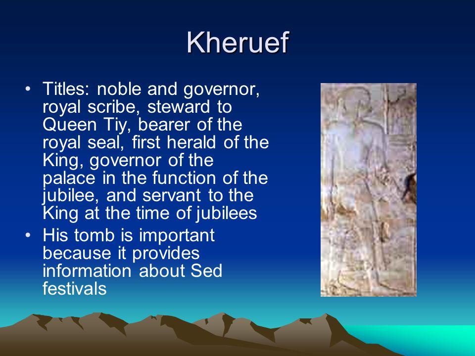 Kheruef
