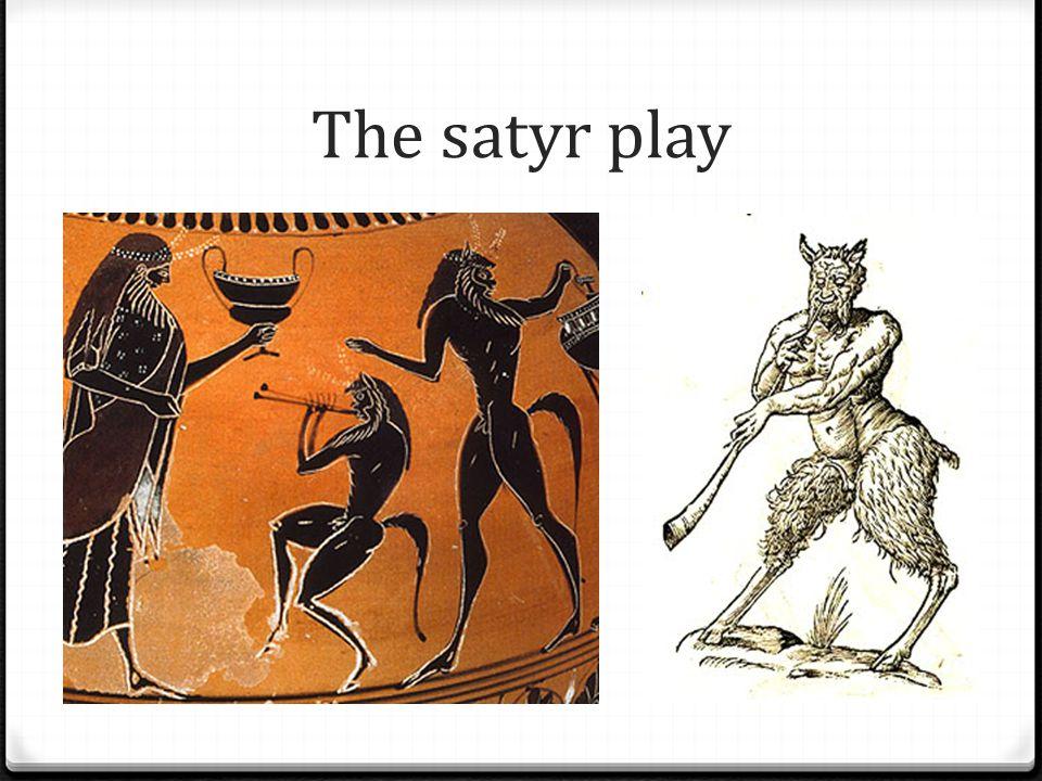 The satyr play