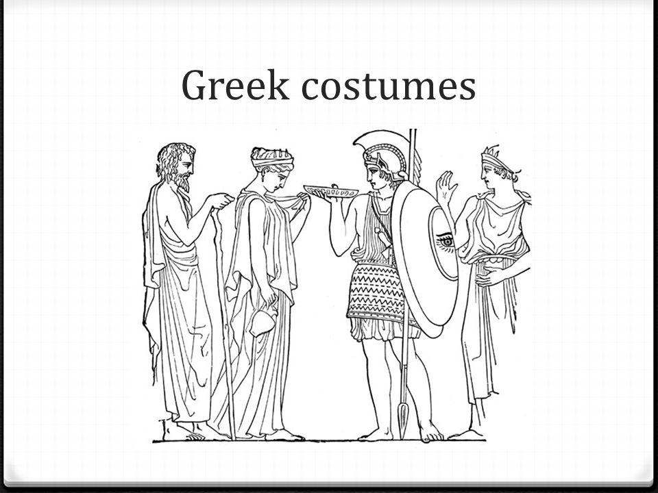 Greek costumes