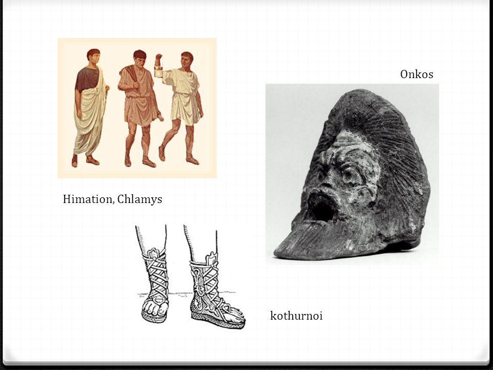 Onkos Himation, Chlamys kothurnoi