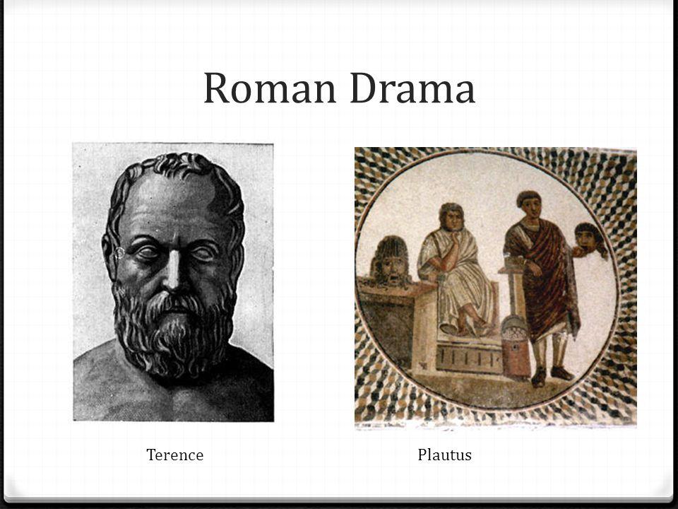 Roman Drama Terence Plautus