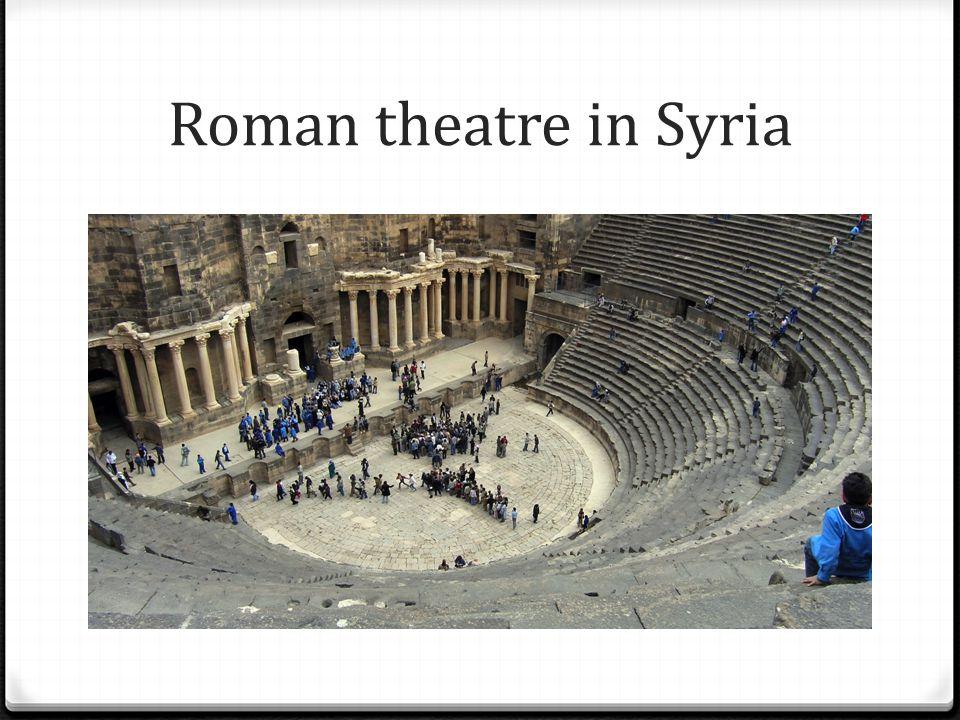Roman theatre in Syria