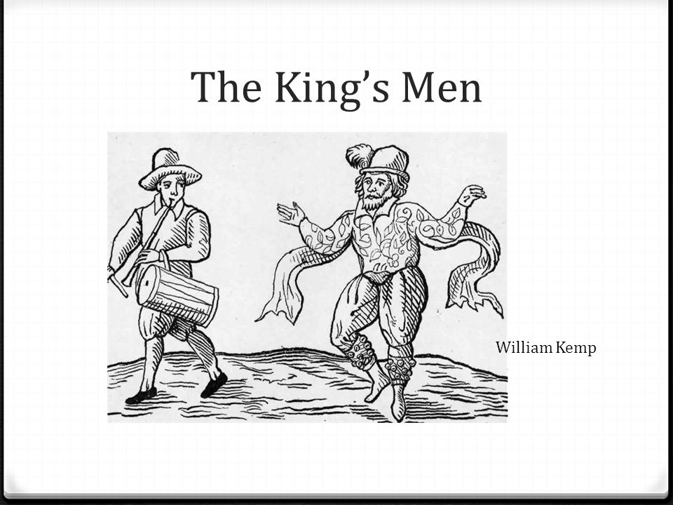 The King's Men William Kemp
