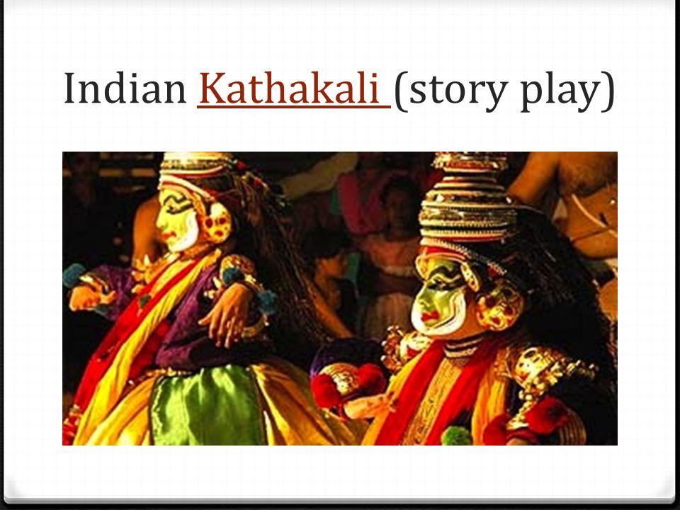 Indian Kathakali (story play)