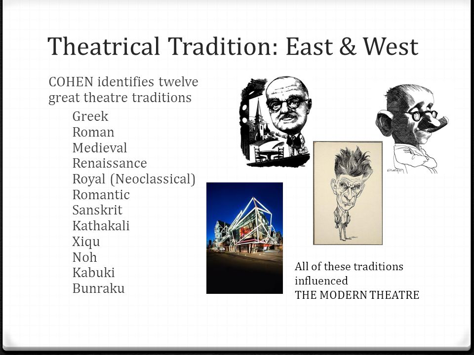 Theatrical Tradition: East & West