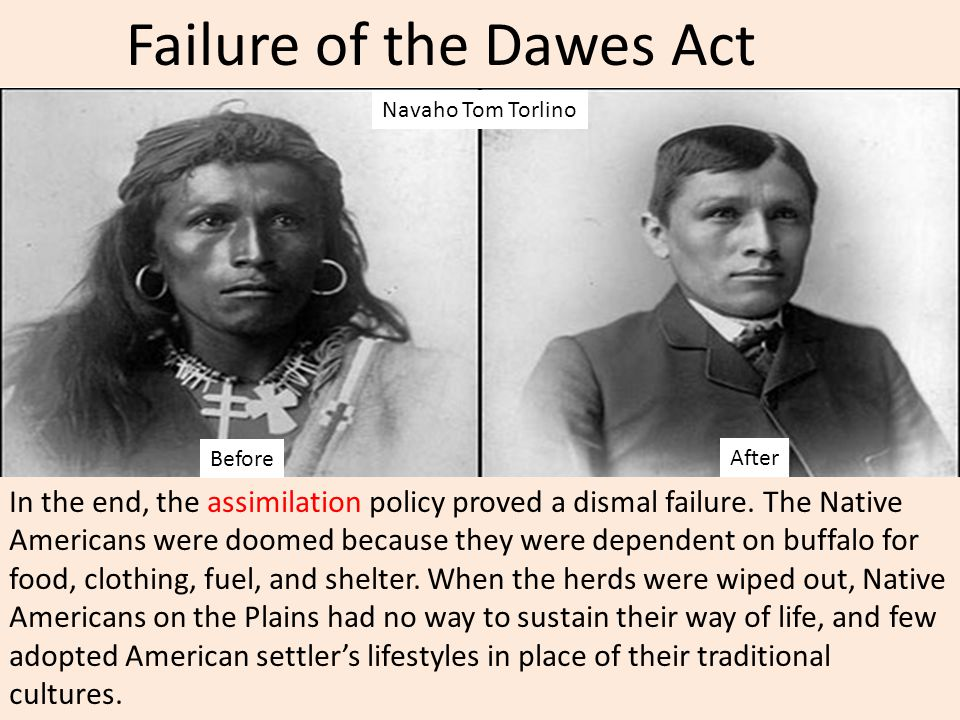 Failure of the Dawes Act