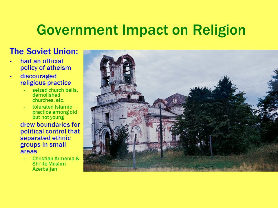 Government Impact on Religion