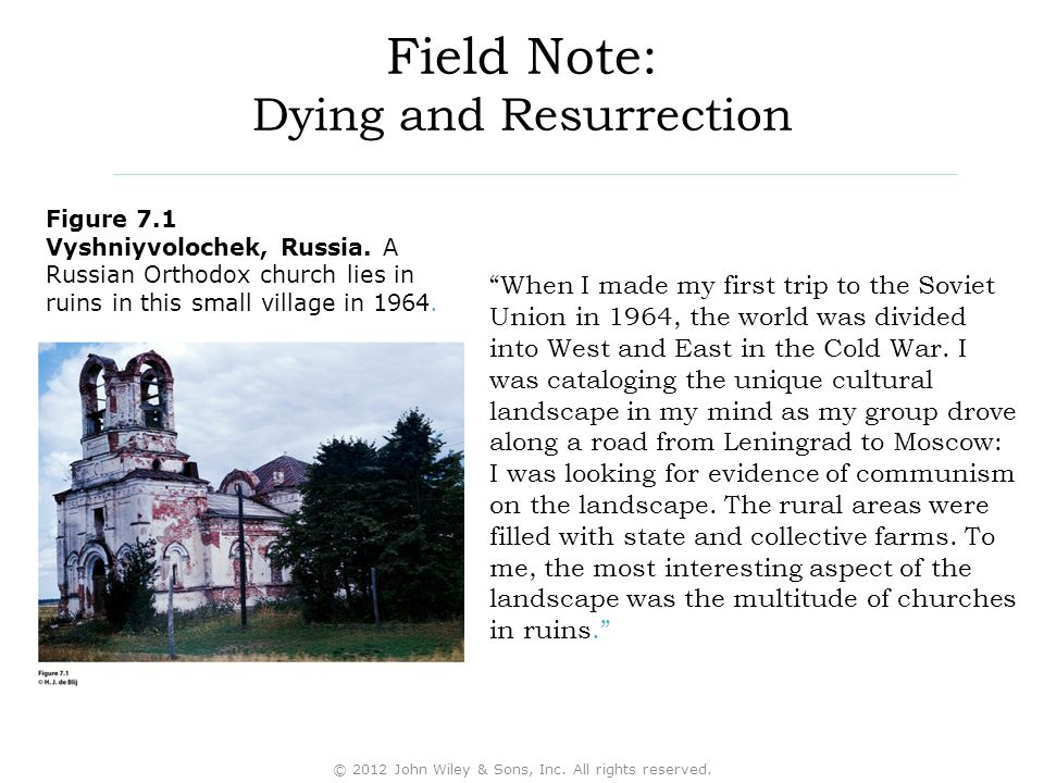 Field Note: Dying and Resurrection