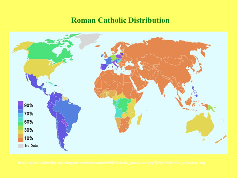 Roman Catholic Distribution