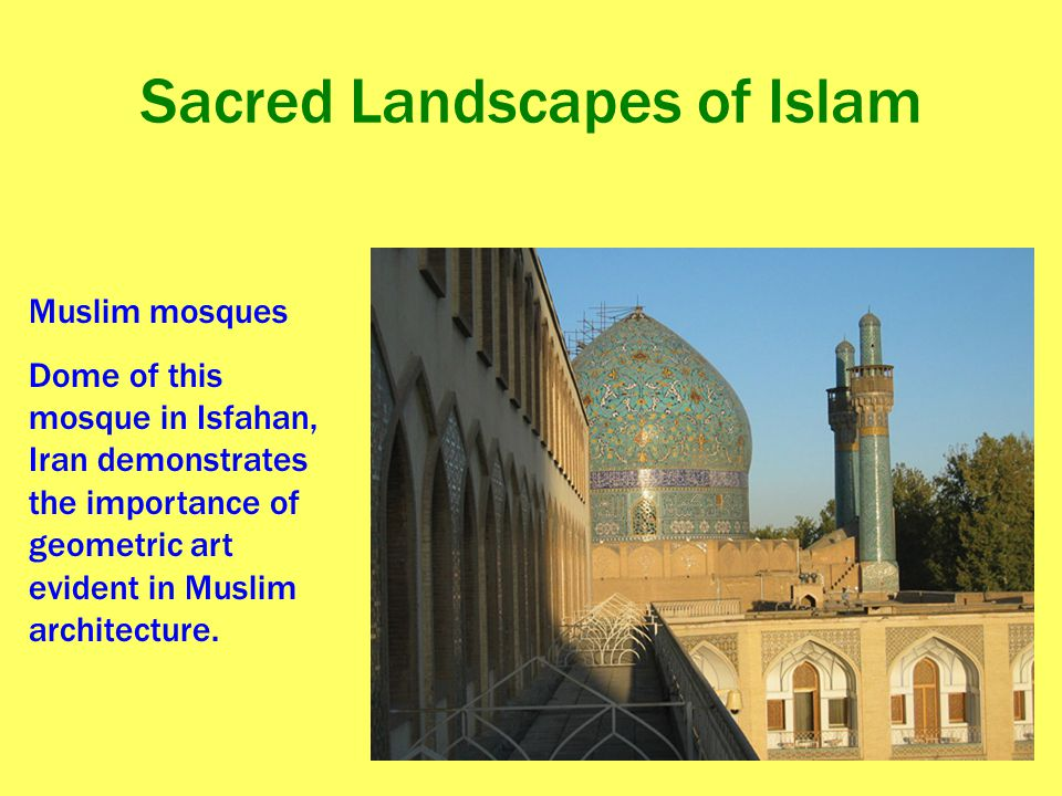 Sacred Landscapes of Islam