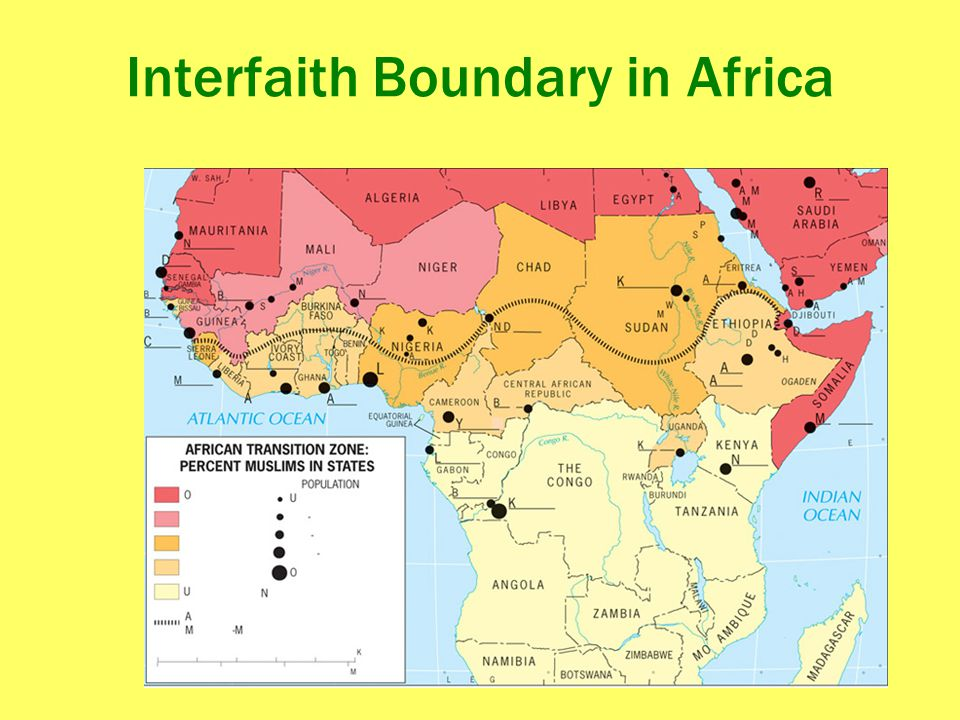 Interfaith Boundary in Africa