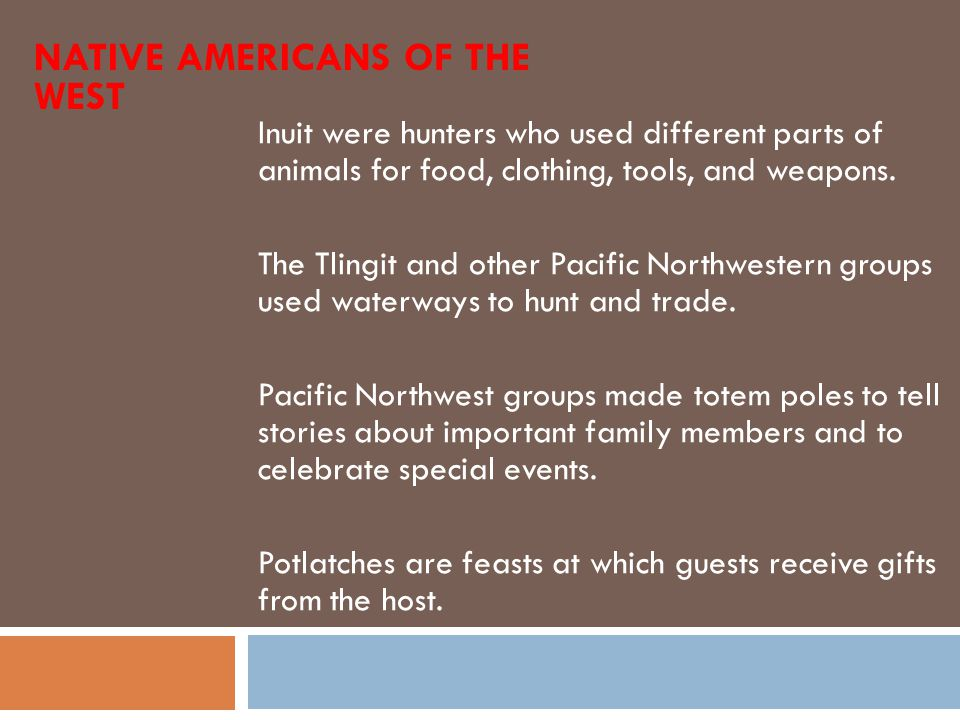 Native Americans of the West