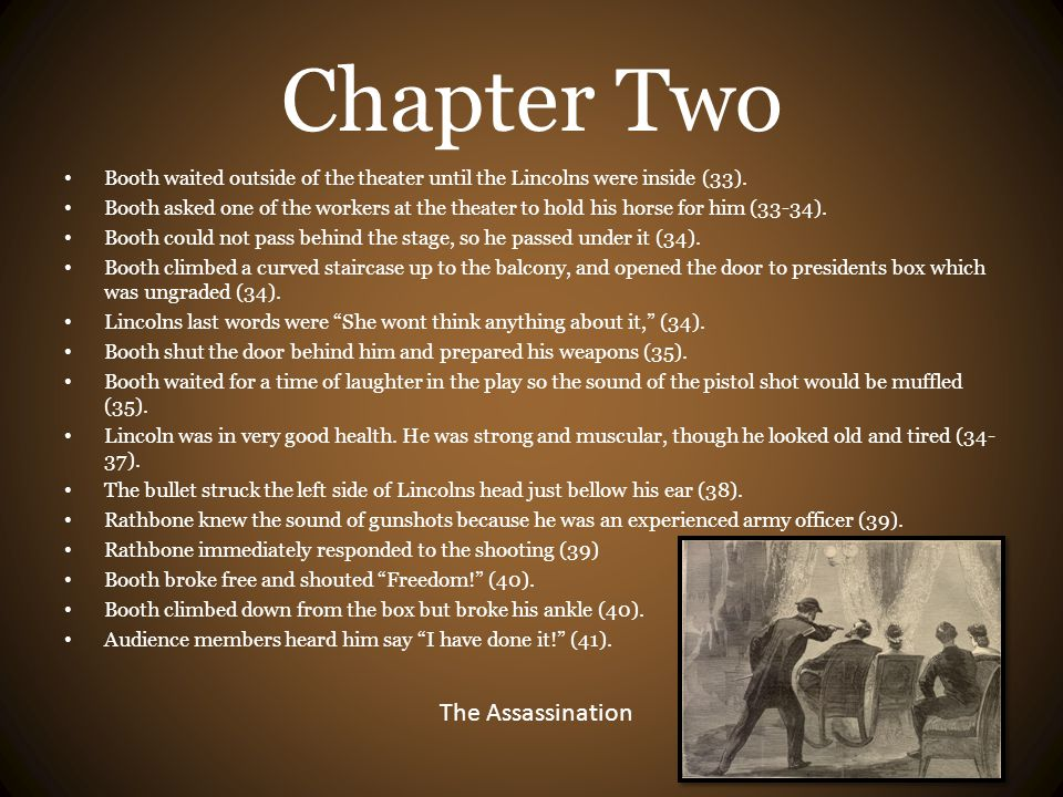 Chapter Two The Assassination