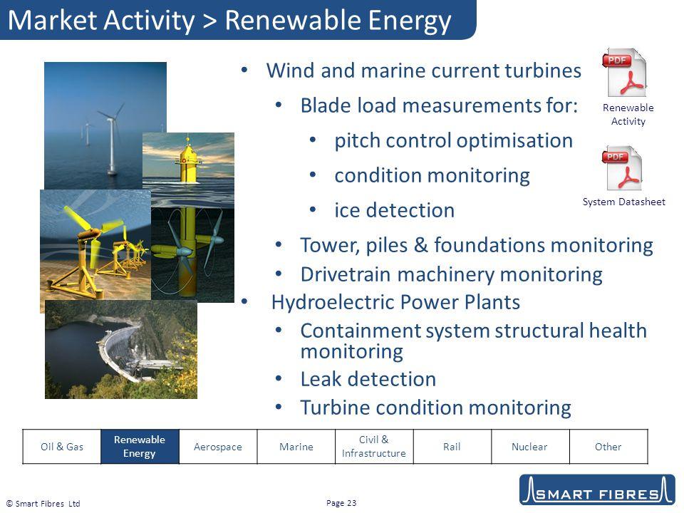 Market Activity > Renewable Energy